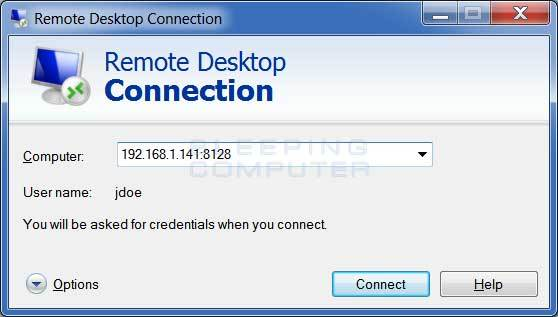 Change the Connection Port