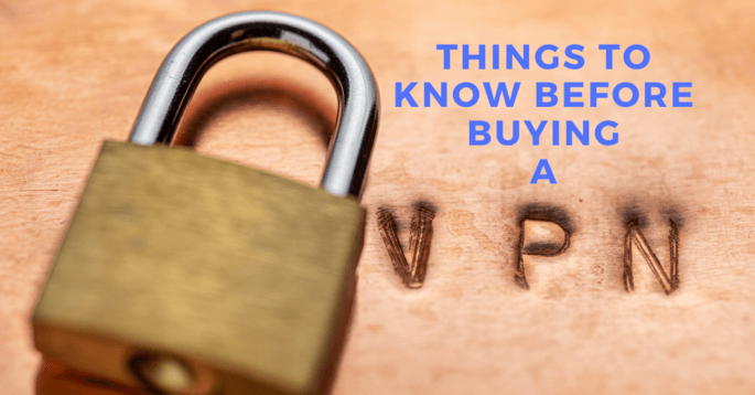 Things To Know Before Buying A VPN