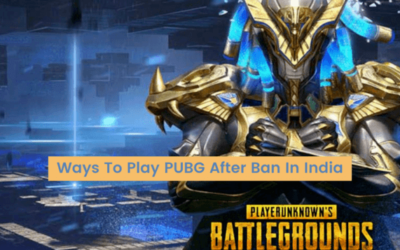Ways To Play PUBG After Ban In India