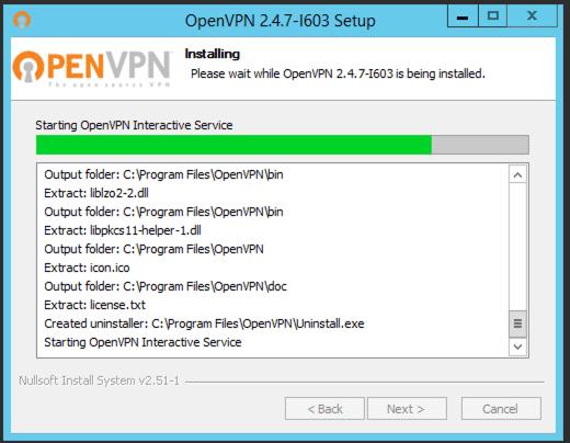 Windows Open VPN